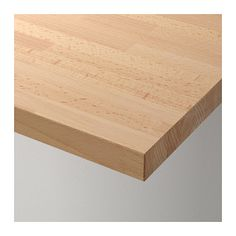 """This will be for both of your desk tops, bringing in warmth to contrast with the black,  white, and gray. GERTON Table top  - IKEASize 61x29 1/2"""""""