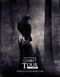 "Autunnonero Ghost Tour Triora promotional image, ""The crow"""