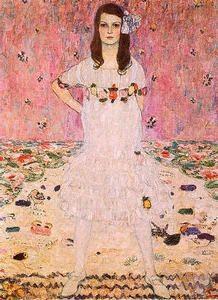 37.Retrato de Mäda Primavesi, hacia 1912 - (Gustav Klimt)