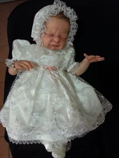 gorgeous reborn doll Nina brought to life by BABY BANTER member Missly