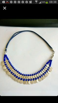 This post was discovered by Funda Ertemiz. Discover (and save!) your own Posts on Unirazi. Silver Necklaces, Gold Jewelry, Beaded Jewelry, Jewelry Box, Jewelery, Beaded Necklace, Jewelry Making Tutorials, Jewelry Making Beads, Handmade Accessories