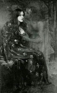 The Silent Voice by Herald Moira, 1898. Illustration