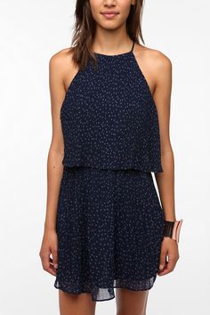 DV By Dolce Vita Chiffon Leona Flounce Dress  #UrbanOutfitters