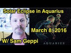 Aquarius Eclipse in Purva Bhadra Nakshatra March 2016 Taurus Man, Aquarius Men, Solar Eclipse, March, Youtube, Movie Posters, Movies, Films, Film Poster