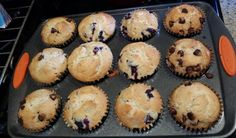 Easy Blueberry Muffi
