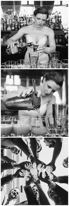 Bartending bride | Peasant Cookery | Wedding cocktails | Wedding photography