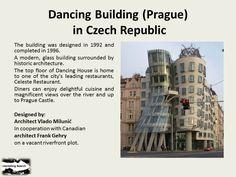 Dancing Building (Prague) in Czech Republic