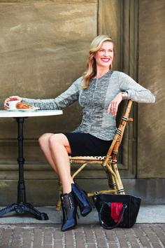 Tweed Peplum Jacket & Ponte Pencil Skirt Chanel inspired. Stay True #fall #fashion #womensfashion #stoneroadmall