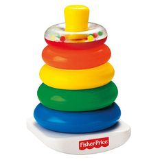 """Fisher-Price Brilliant Basics Rock-a-Stack - Fisher-Price - Toys """"R"""" Us"""