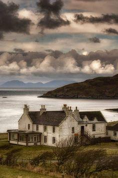 Duntulm, Tulm Island by Pascal Bobillon (Isle of Skye, Scotland)