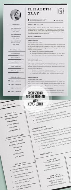 Clean Resume \ Cover Letter Cover letter resume, Resume cover - ocean engineer sample resume