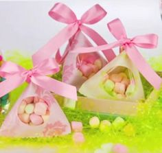 How to make an #Easter pyramid bag #video