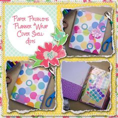 Planner wrap covers & more for Erin Condren, Plum paper, inkwell press, limelife, simplified life, arc, mambi happy planner & more. Visit my Etsy listing at https://www.etsy.com/listing/230188216/clearance-dots-wrap-planner-cover