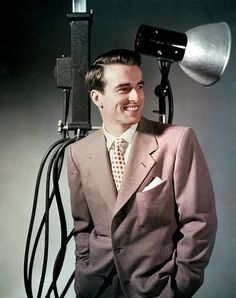 Montgomery Clift - I love this photo because it's a rare one in which he looks relaxed and is smiling.