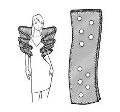 multi-hole scarf shrug