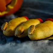 Doigts de sorcière ensanglantés - une recette Fête - Cuisine