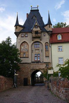 Schlossbrücke north, Meissen, Germany