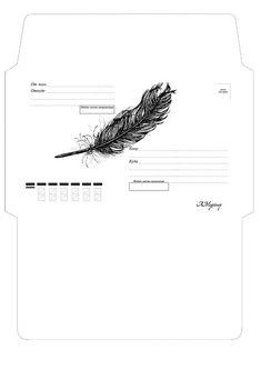 Envelope Template Printable, Printable Lined Paper, Printable Recipe Cards, Bullet Journal Lettering Ideas, Bullet Journal Books, Cute Envelopes, Papel Scrapbook, Abstract Template, Bullet Journal Aesthetic