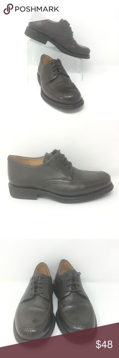 fc8865f4ee NEW Sandro Moscoloni Leather Derby Size 8 Brown Sandro Moscoloni Leather  Derby Size 8 D Brown