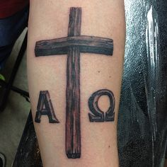 Really fun #crosstattoo to do right after Easter.  #trilogytattooco #757 #vabeach #tattoos #piercing #tattooremoval #lynnhaven #7cities #ig757 #tattoo #thickerthanblood #Tattoochurch #cross #easter