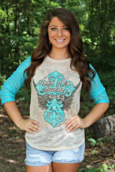 Women's Lead Me Lace Top  Our Price: $36.99