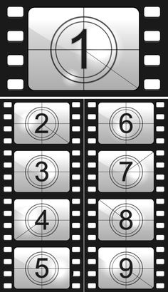 Film countdown - Graphics
