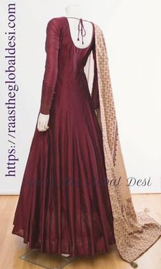 indian clothing ONLINE USA Silk brocade top with golden embroidery with matching bottom and dupatta Indian Fashion Dresses, Indian Gowns Dresses, Dress Indian Style, Indian Designer Outfits, Indian Outfits, Indian Clothes, Indian Wear, Maxi Gowns, Designer Clothing