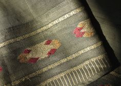 Handwoven Lao / Isan antique silk by ThaiTextileShop on Etsy, $55.99