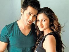 Alia Bhatt and Varun Dhawan are looking rather cute in this picture doing the…