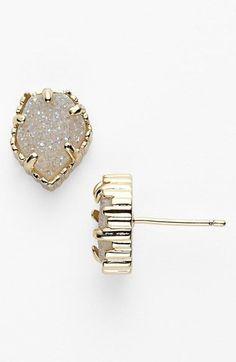 'Tessa' Stone Stud Earrings