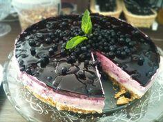 Zdravé Torty: Jogurtová nepečená torta Czech Desserts, Sweet Desserts, No Bake Desserts, Sweet Recipes, Vegan Recipes, Cooking Recipes, Ice Cream Candy, Wonderful Recipe, Desert Recipes