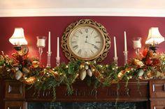 Impressive Christmas Mantel Decor Inspiration On Decor With With Red Theme  Christmas Decor Mantel, Christmas, Christmas Decor Idea