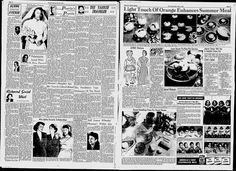 The quads' Pet Milk ad is on the bottom of the right hand page.