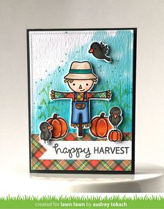 Pink Ink Originals: Lawn Fawn Inspiration Week - Perfectly Plaid Fall