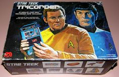 Vintage Star Trek Tricorder (aka Cassette Tape Recorder), Manufactured For Mego Corp. By Megotronics, Made In Taiwan, Copyright 1976 By Paramount Pictures Corporation.