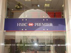 HSBC Premier Vinyl Poster Obour branch1 by Better & Partners'  Address : 55 Shehab St. Mohandessin, Gîza, Egypt, 123456 Phone : + 20 2 3303 7199  e-mail: info@betterandpartners.net