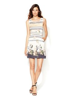 By TiMo Sophie Silk Keyhole Dress
