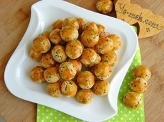 Pastane Usulü Çörekotlu Tuzlu Kurabiye Resimli Tarifi - Yemek Tarifleri