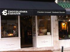 Chocolataria Equador Equador, Chocolates, Places, Home Decor, Lisbon, Schokolade, Interior Design, Chocolate, Home Interiors