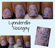 Nosegay over OPI Mod About You