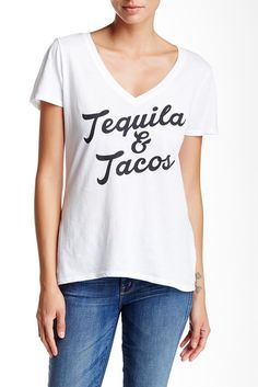 Tequila & Tacos Tee  I need this shirt