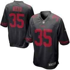 f11b32b4c Eric Reid San Francisco 49ers Nike Alternate Game Jersey - Black