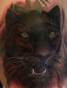 wonderful_watercolor_black_panther_tattoo.jpg (443×582)