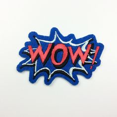 New to craftapplique on Etsy: WOW punk patches cute patch Onomatopoeia patch Interjection patches Embroidery patch Embroidered patch iron on patch sew on patch A141 (1.90 USD)