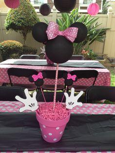 Centro mesa Minnie Mouse