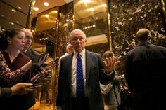 Donald Trump Selects Senator Jeff Sessions for Attorney General. Mr. Sessions, an Alabama conservative, was denied a federal judgeship by the Senate Judiciary Committee in 1986 because of racially charged comments.(11.18.16)