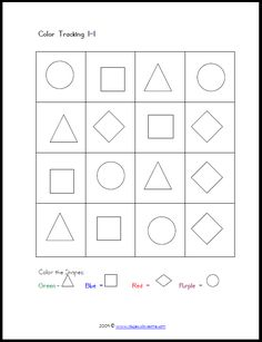 free printable visual-perceptual worksheets. Repinned by SOS Inc. Resources @sostherapy.