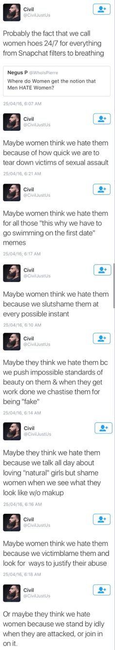 This guy said it Was Ist Pinterest, Faith In Humanity Restored, World Problems, Intersectional Feminism, Equal Rights, Patriarchy, My Tumblr, Social Issues, Social Justice