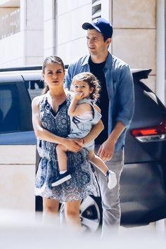 Mila Kunis, Ashton Kutcher and baby Wyatt