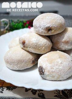 Mosaico de Receitas: Donuts Assados - Chá de Primavera no Coletivo Gast...